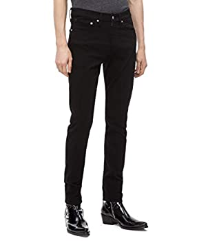 Calvin Klein Men s Skinny Fit Jeans Forever Black 32W x 30L