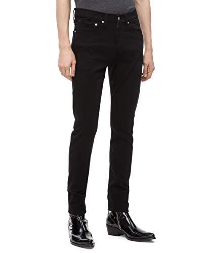 Calvin Klein Men's Skinny Fit Jeans, Forever Black, 40W x 30L