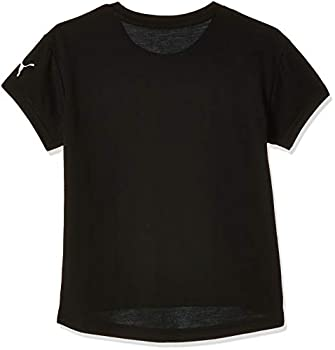 PUMA Modern Sports Logo Tee G T-Shirt Fille, FR Unique (Taille Fabricant : 140)