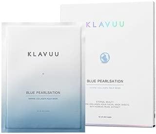 KLAVUU BLUE PEARLSATION Ultimate Marine Collagen Aqua Mask 5EA