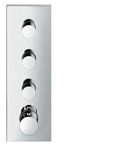 AXOR ShowerCollection Unterputz Thermostatmodul, für 3 Funktionen, Chrom