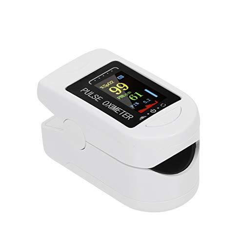 Moobody Pulsossimetro, Ossimetro Digitale da Dito Display OLED Sensore di Ossigeno nel Sangue Saturazione Mini Monitor SpO2 PR Misuratore di misurazione della frequenza del Polso