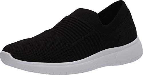 Blondo womens Slip-on Sneaker, Black Knit, 6 US