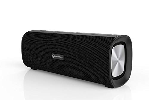 New Trent Bluetooth Speaker - TWS Stereo Sound Outdoor Wireless & Portable, 30W Output, Dual Deep Bass Radiator, Built-in Microphone for Handsfree Calling