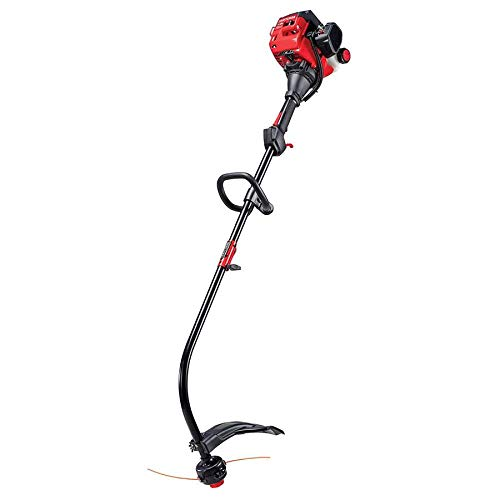 Learn More About CRAFTSMAN WC210 25-cc 2-Cycle 17-in Curved Shaft Gas String Trimmer with Attachment...