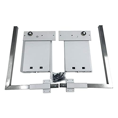 Kit de Hardware de Mecanismo de Resorte para Cama de Pared montada en la Pared para Cama Doble tamaño King, Montaje en Pared Horizontal Blanco
