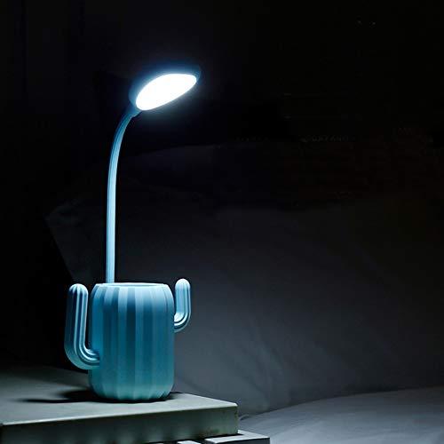 YCEOT Touch-schakelaar, bureaulamp, LED, penseelfitting, leeslamp met 3 standen, accu dimbaar, 1200 mAh, tafellampen met USB oplaadbaar
