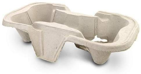 90 X 2 CUP HOLDER TRAY, 2 CUP HOLDER, HOT DRINKS HOLDER, HOT DRINKS CARRIER, DRINK HOLDER PULPS