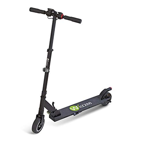 Wiizzee WS1 Light, Monopattino Elettrico Unisex-Adult, Nero, H100xL93xP43cm