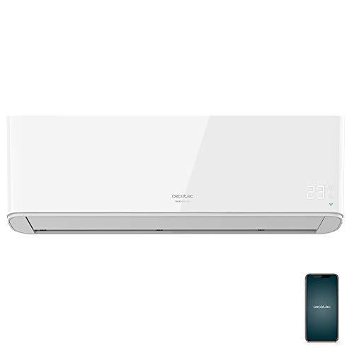 Cecotec Aire acondicionado split EnergySilence 12000 AirClima Connected. 12000 BTU, bomba de calor, pantalla LED, mando a distancia, 5 modos, temporizador 24h, 62db, clasificación energética A++