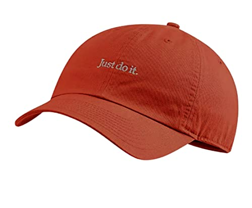 Nike Heritage 86 JDI Casquette de baseball réglable pour adulte Orange