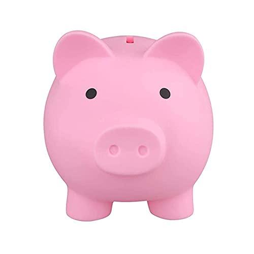 Facynde Tirelire Mignon, Tirelire en Plastique Cochon pour Économiser des Pièces De Monnaie Nouveauté Cochon Tirelire comme pour Les Enfants Amis Adultes À l'anniversaire De Noël