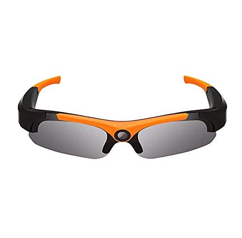 KANGLE-DERI Bluetooth Gafas de Sol Gafas Música inalámbrica Gafas de Sol Deporte Auriculares estéreo al Aire Libre Handshare Auriculares Compatible, Grabadora Smart Outdoor