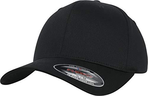 Flexfit Uni Organic Cotton Cap, Black, L/XL