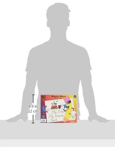 Teacher Created Resources Smart Start K-1 Story Paper: 40 Sheet Tablet (76510), White Photo #2