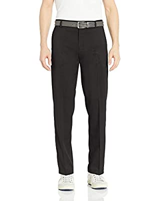 Amazon Essentials Men's Standard Classic-Fit Stretch Golf Pant, Black, 30W x 28L