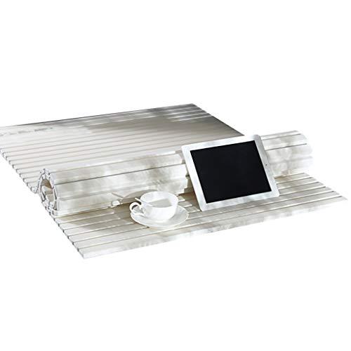 LwBathtub Tray badmat van pvc, vuilafstotend, beschermt tegen stof, badkuip in de raad.