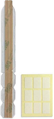 VistaProtect - Kit de Fixation de Rechange. Ruban adhésif et onglets, pour la Fixation de filtres de confidentialité pour moniteurs, Ordinateurs Portables et MacBook (Pack de 3X Kits)