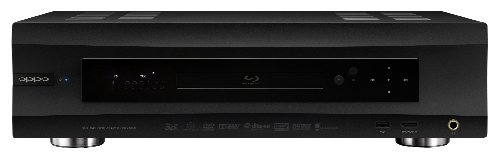 Oppo BDP-105DEU Blu-ray Player schwarz