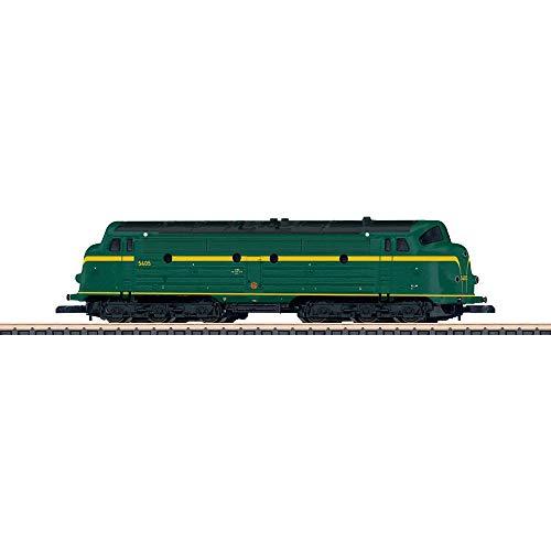 Märklin 88634 Diesellok Serie 54 SNCB Modellbahn-Lokomotive, Spur Z