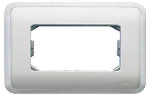 Bjc rehabitat - Placa con bastidor+marco 2 ancha/1 estrecho blanco