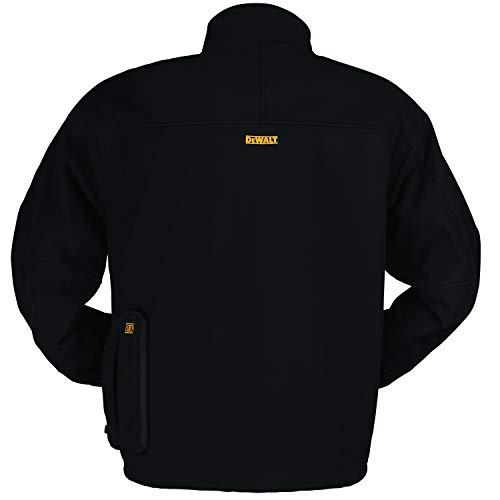 DEWALT DCHJ060ABD1-2X Veste chauffante Softshell 2X Noir