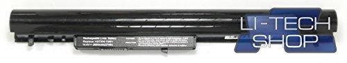 LI-TECH Batería compatible 2600 mAh negra para HP Touch Smart 15-R017NS 14,4 V 14,8 V Nueva