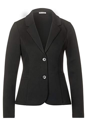 Street One Damen Blazer im Basic Style Black 44