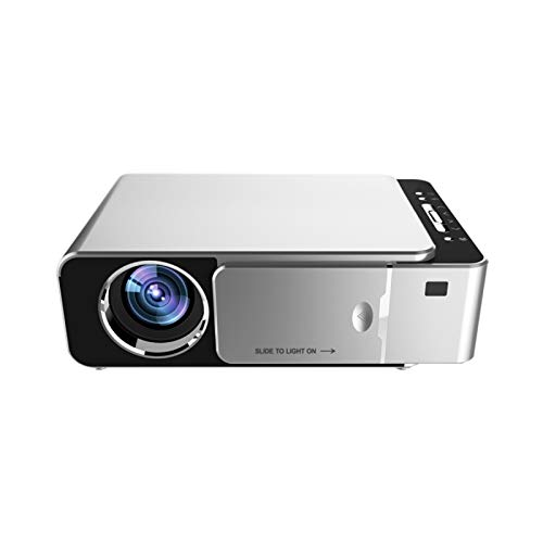 Beamer Projektor Elektrisch LED-Projektor Heimprojektor T6 Full HD 1080P LED Video Smart Home Projektor T6 Full HD 1080P LED-Videoprojektor Smart Home Cinema VGA USB HDMI Mediaplayer