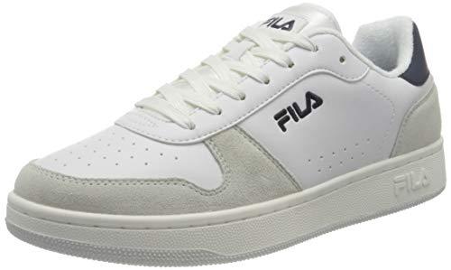 FILA Netforce 2 men Sneaker Uomo, Bianco (White), 43 EU