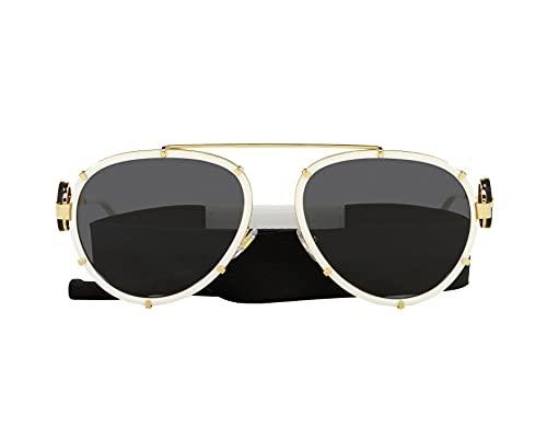 Gafas de Sol Versace VINTAGE ICON VE 2232 White/Dark Grey 61/18/145 mujer