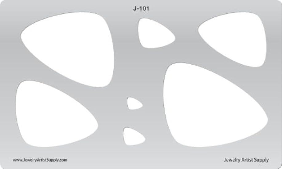 Creative Shapes Template - Picks (Large) J101