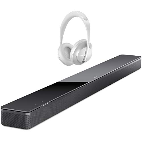 Read About Bose Soundbar 700, Black - with Bose Headphones 700 Noise-Canceling Bluetooth Headphones,...