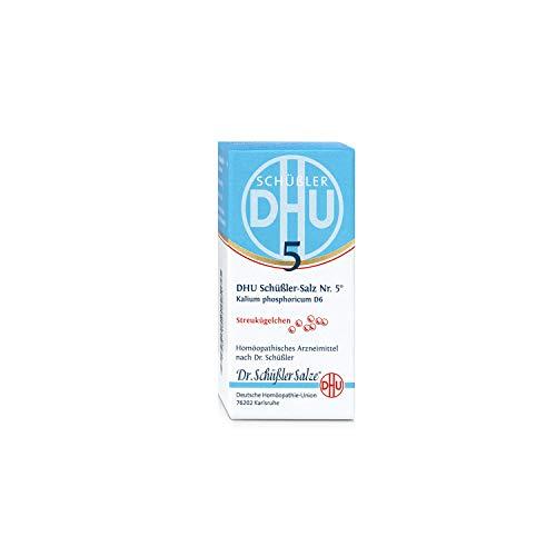 DHU Schüßler-Salz Nr. 5 Kalium phosphoricum D 6 Streukügelchen, 10 g Globuli