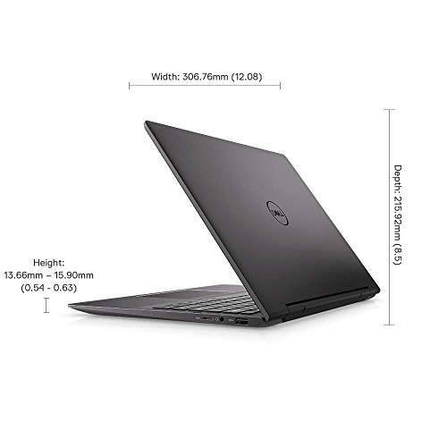 Dell Inspiron 7391 13.3-inch FHD 2in1 Laptop (10th Gen Core i5-10210U/8GB/512GB SSD/Win 10 + MS Office/Integrated Graphics), Black