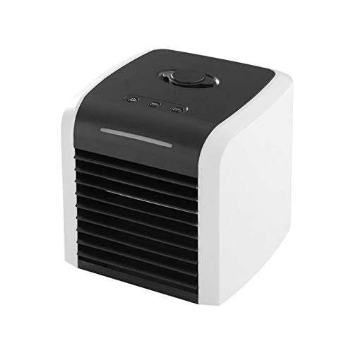 Mumuyu Air Conditioning Cooler Portable and Portable air Conditioning Three-in-one Cooler, humidifier, Best Purifier USB Interface 2 Gear Speed 7-Color LED Light Office, Family, Dormitory, Travel