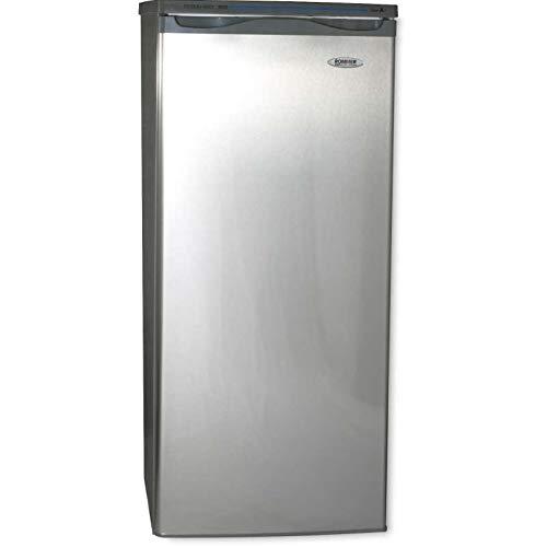 ROMMER Congelador vertical Look inox A+ Cv22