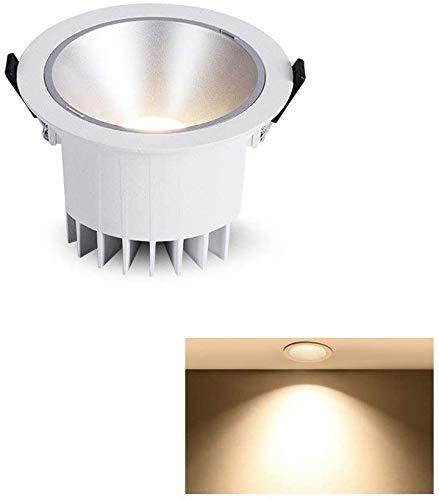 Raelf LED Downlight COB nórdica de Alta Ra 90+ Ronda cóncavo proyector...