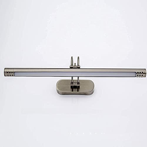 CZYNB LED 5W Espejo de baño luz Moderno Moderno Pared lámpara Maquillaje Espejo iluminación Frontal a Prueba de Agua bañera sobre Espejo lámpara Ultra Brillante Pintura de Imagen,4500k Blanco Natural