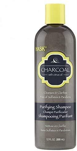 Hask Charocal Tiefenreinigendes Aktiv-Kohle-Shampoo mit Zitrusöl, 355ml