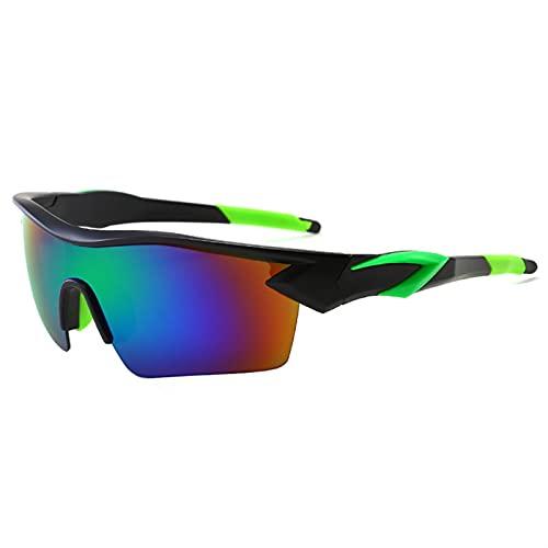 JTXQSI Bicicleta Gafas Gafas Al Aire Libre Sport Mountain Bike Road Ciclismo Gafas Gafas de Sol Gafas de Sol Gafas (Color : Green)
