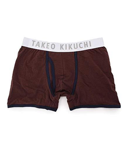 (タケオキクチ) TAKEO KIKUCHI ストレッチボクサーパンツ 93101927 03(L) ダークブラウン(043)