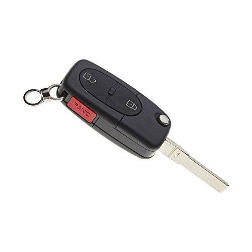 Plip Auto de Haute qualité Ultra résistant: 3 Boutons Ouverture/Fermeture des Portes et Alarme + 1 Lame Pliable
