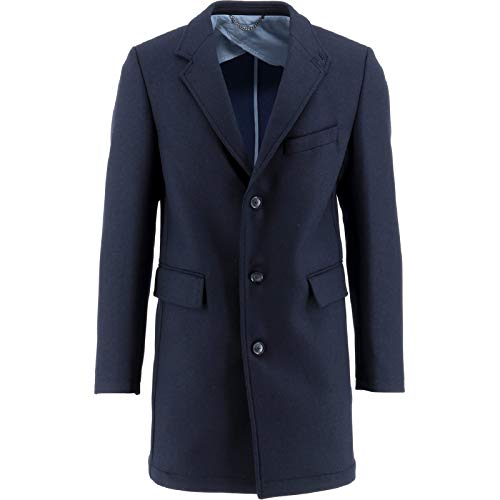 Strellson Uptown mantel, marineblauw