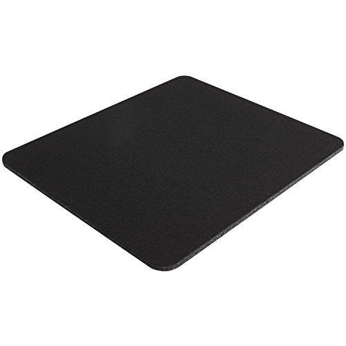 Belkin Standard 8-Inch by 9-Inch Computer Mouse Pad with Neoprene Backing and Jersey Surface (Black) (10 Pack)