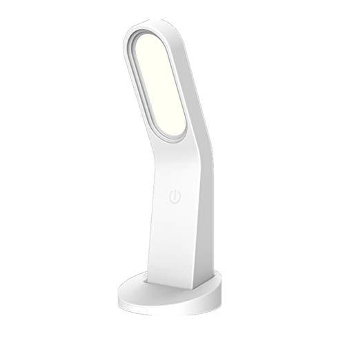 GYC Lámpara de Mesa Simple, lámpara de Mesa de protección Ocular Recargable por USB, lámpara de Pared magnética LED de Mano con atenuación Continua de luz Nocturna
