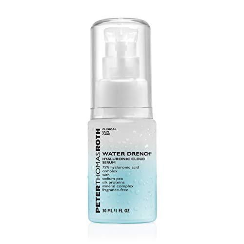 Audio-Technica Peter Thomas Roth Water Drench Hyaluronic Cloud Serum, 1 FL. Oz/ 30 ml Ohrstöpsel, 2 cm, Schwarz