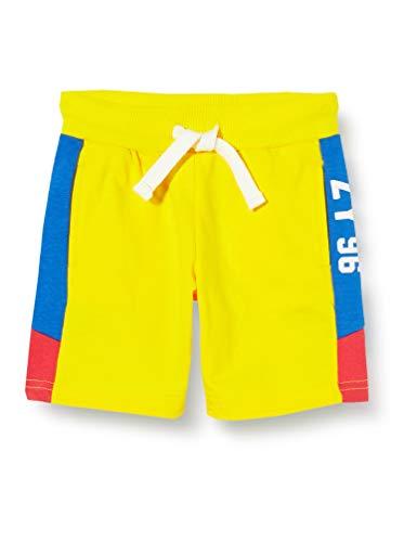 ZIPPY pantalón Corto Fleece SS20, Habanero Gold 13/0849, 3-4 años para Niños