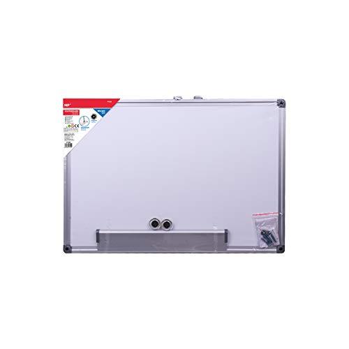 MP - Pizarra Blanca Magnética con Marco de Aluminio - 90x120 cm