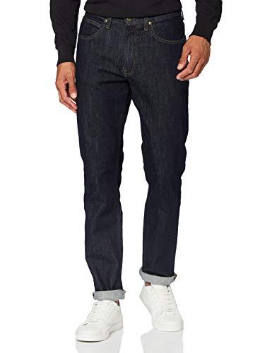 Lee Herren Brooklyn Straight Jeans, Rinse, 33W / 34L